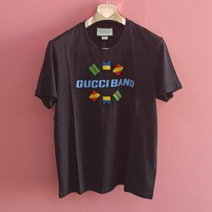 Gucci Casual Black Short Sleeve Tee , Men's , NWT
